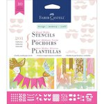 Faber-Castell - Mix and Match Collection - Mixed Media Stencils - Motif