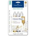 Faber-Castell - Mix and Match Collection - Texture Gems - Metallics