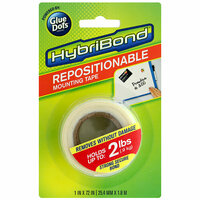 Glue Dots - Repositionable Mounting Tape Roll - Hybribond