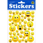 Draper International - Heartnotes Stickers - Smile Faces - 3D