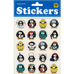 Draper International - Heartnotes Stickers - Fun Penguins