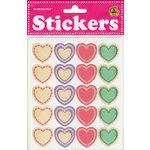 Draper International - Heartnotes Stickers - Hearts Lace