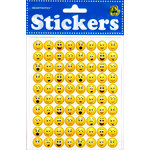 Draper International - Heartnotes Stickers - Smile Faces - 3D Tiny