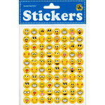 Draper International - Heartnotes Stickers - Faces Grins Tiny Yellow