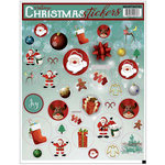 Draper International - Christmas - Heartnotes Stickers - Xmas Vintage