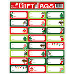 Draper International - Christmas - Heartnotes Stickers - Xmas Tags - Candy