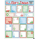 Draper International - Christmas - Heartnotes Stickers - Xmas Tags - Classic