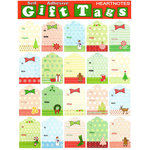 Draper International - Christmas - Heartnotes Stickers - Xmas Tags - Vintage String