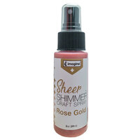 Imagine Crafts - Sheer Shimmer Spray - Rose Gold