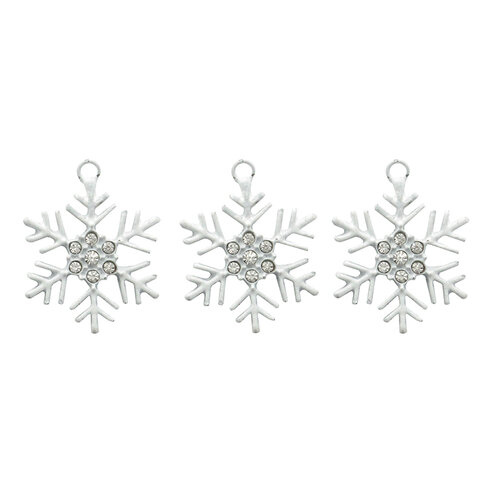 Jesse James - Buttons - Charm Snowflake