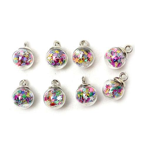 Jesse James - Buttons - Unicorn Mini Bubbles