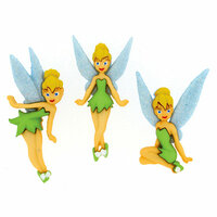 Jesse James - Disney - Buttons - Tinkerbell
