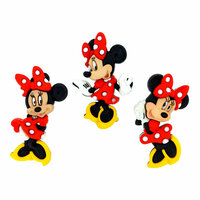 Jesse James - Disney - Buttons - Minnie Mouse
