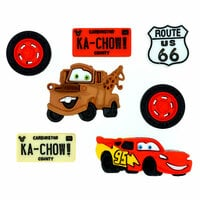 Jesse James - Disney - Buttons - Cars