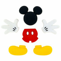 Jesse James - Disney - Buttons - Mickey Mouse - Everything Mickey