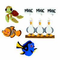 Jesse James - Disney - Buttons - Finding Nemo