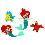Jesse James - Disney - Buttons - The Little Mermaid