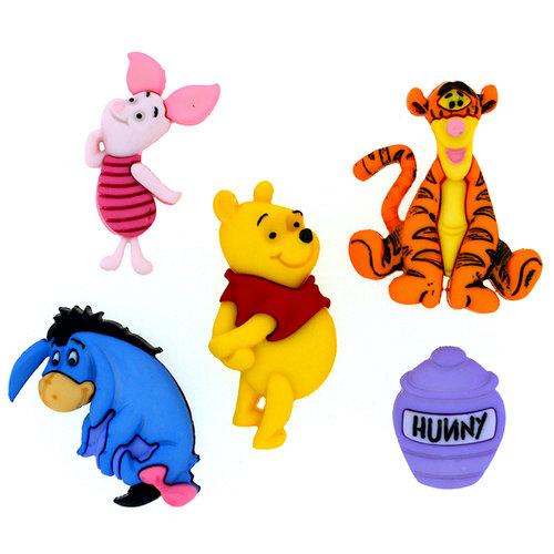 Jesse James - Disney - Buttons - Winnie The Pooh