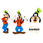 Jesse James - Disney - Buttons - Goofy