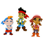 Jesse James - Disney - Buttons - Jake and The Neverland Pirates
