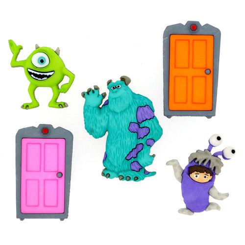 Jesse James - Disney - Buttons - Monsters Inc.