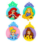 Jesse James - Disney - Buttons - The Princesses