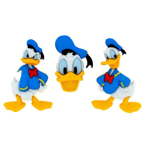 Jesse James - Disney - Buttons - Donald Duck