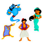 Jesse James - Disney - Buttons - Aladdin