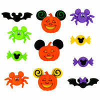 Jesse James - Disney - Buttons - Mickey and Minnie - Halloween