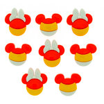 Jesse James - Disney - Buttons - Mickey and Minnie - Candy Corn - Halloween
