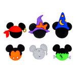 Jesse James - Disney - Buttons - Mickey and Minnie - Halloween Hats