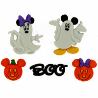 Jesse James - Disney - Buttons - Mickey and Minnie - Ghosts - Halloween