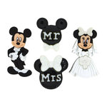 Jesse James - Disney - Buttons - Mickey and Minnie Wedding