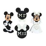 Jesse James - Disney - Buttons - Mickey and Minnie Wedding