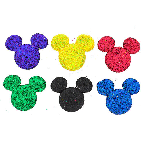 Jesse James - Disney - Buttons - Glitter Mickey