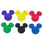 Jesse James - Disney - Buttons - Glitter Mickey