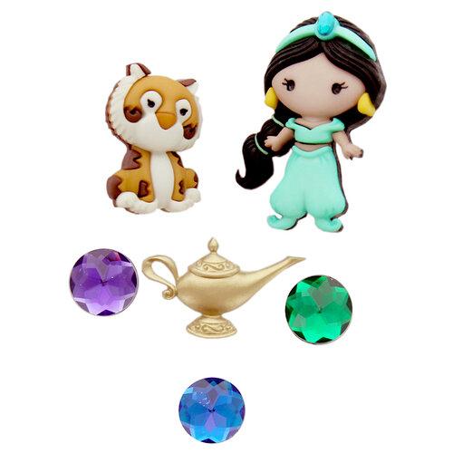 Jesse James - Disney - Buttons - Jasmine