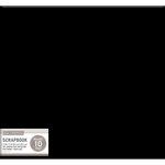 K and Company - 12 x 12 Scrapbook Album - Basic Faux Leather - Black