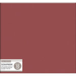 K and Company - 12 x 12 Scrapbook Album - Basic Faux Leather - Burgundy