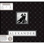 K and Company - Frame a Name - 12 x 12 Scrapbook Album - Black