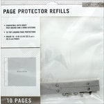 K and Company - 8 x 8 Page Protector Refills - 10 Pack