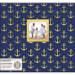 K and Company - 12 x 12 Scrapbook Window Album - Nautical