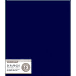 K and Company - 8.5 x 11 Scrapbook Album - Basic Faux Leather - Navy