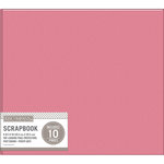 K and Company - 8 x 8 Scrapbook Album - Basic Faux Leather - Pink
