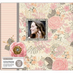 K and Company - 12 x 12 Boxed Scrapbook - Parisian Floral