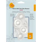 3L Scrapbook Adhesives - Quick and Easy - Removable Dot Glue Runner Refill