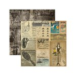 Marion Smith Designs - Time Keeper Collection - 12 x 12 Double Sided Paper - Carnival