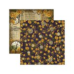 Marion Smith Designs - Time Keeper Collection - 12 x 12 Double Sided Paper - Antique Emporium