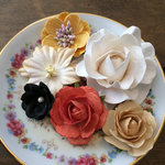Marion Smith Designs - Time Keeper Collection - Paper Flowers