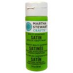 Martha Stewart Crafts - Paint - Satin Finish - Green Curry - 2 Ounces